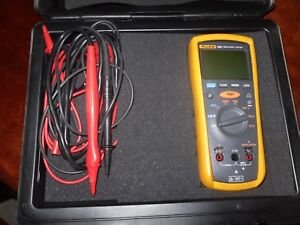 Fluke 1507 Insulation Tester In Hard Case Excellent Condition