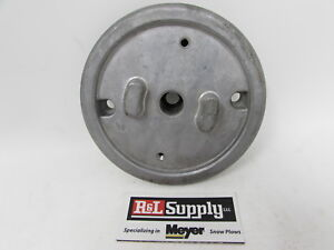 Genuine Meyer Snow Plow E60 E 60 E60h E60 H Motor Mount Cover W 2 Tabs 15892