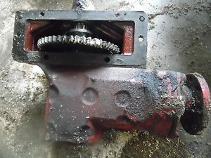 Farmall 300 Tractor Row Crop Belt Pulley Drive