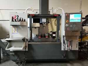 2014 Haas Vf 2 With 4th Axis Renishaw Probing And More Low Hours