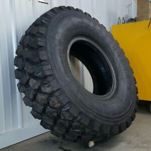 Michelin Xzl Non Plus 46 8 395 85 R20 Military M939 5 Ton 6x6 Tire 100 Tread