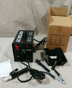Ac Welding Arc Welder Model Bx1 250b With Face Mask And Brush