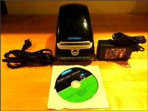 Dymo Labelwriter 450 Turbo Thermal Label Printer 1750283 Excellent Condition