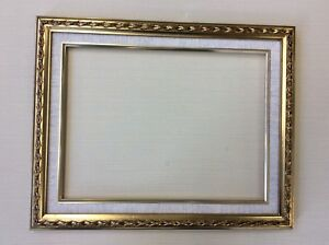 Antique Style Ornate Gold Picture Mirror Frames 12 X 16 Or 14 X 18