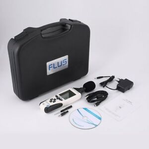 Flus Et 958 Digital Sound Level Meter Noise Tester Decibel Logger Measurement Gs