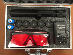 Blue Burning Laser Special Effects Lenses Powerful 1 5watts Not A Toy