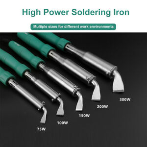 100w 150w 200w 300w 220v Soldering Iron High Power Soldering Roofer Soldering Us
