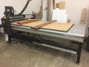 Used Precix Cnc Router Full Parts Service Software G code Support
