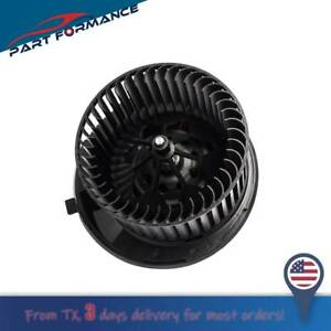 New Heater Hvac Blower Motor W Fan Cage For Audi A3 Volkswagen Passat Jetta Cc