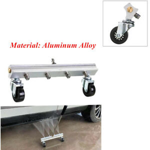Universal 30mpa4nozzle Cleaning Gun Car Under Body Chassis Washer Aluminum Alloy