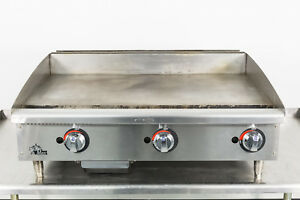 Used Star Star max 636mf 36 Manual Gas Griddle W 1 Plate