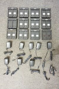Empire Dual Battery Charger Lot For Trimble Battery R8 R6 5700 5800 Sps Gps Gnss