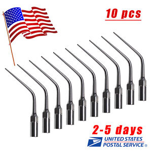 Usa 10 Dental Scaler Tip E3 For Ems Woodpecer Ultrasonic Scaler