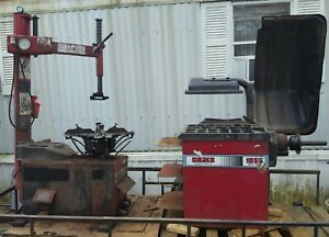 Used Coats 50x Ef1 Tire Changer And 1055 Tire Balancer