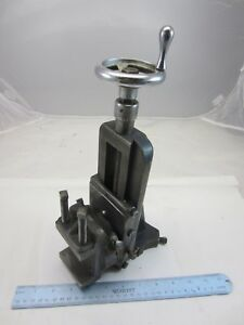 Nice Original Atlas Craftsman 10 12 Lathe Milling Attachment 10 501 10 502