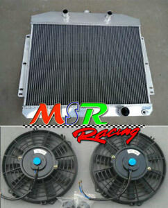 For 1949 1950 1951 Mercury Cars W flathead V8 Engine Mt Radiator