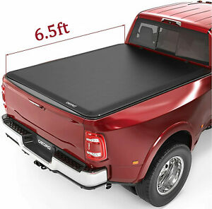 Oedro 6 5 Soft Truck Bed Tonneau Cover Fit For 02 19 Dodge Ram 1500 2500 3500