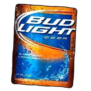 Bud Light 2 Custom Blanket