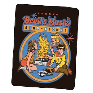 Devil s Music Sing Along Custom Blanket