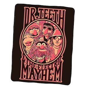 Dr Teeth The Electric Mayhem Custom Blanket