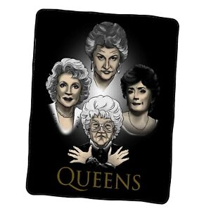 Golden Queens Custom Blanket