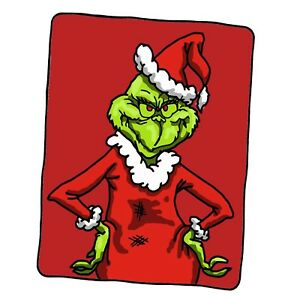 Grinchy Grinch Christmas Classic Custom Blanket