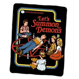 Let s Summon Demons Custom Blanket
