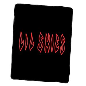 Lil Skies Logo 2 Custom Blanket