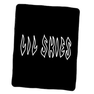 Lil Skies Logo Custom Blanket