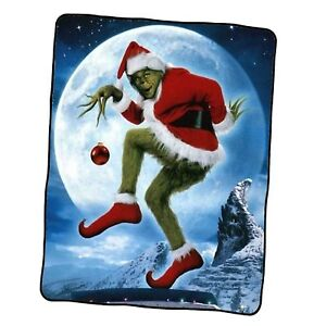 Mr Grinch Christmas Holidays 1 Custom Blanket