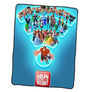 Ralph Breaks The Internet Poster 4 Custom Blanket