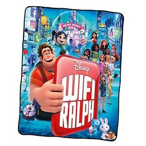 Ralph Breaks The Internet Poster 5 Custom Blanket