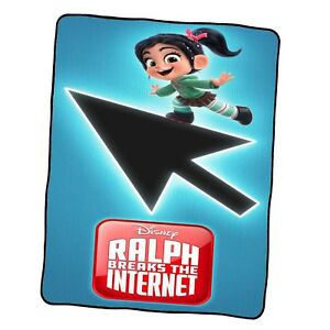 Ralph Breaks The Internet Poster 7 Custom Blanket