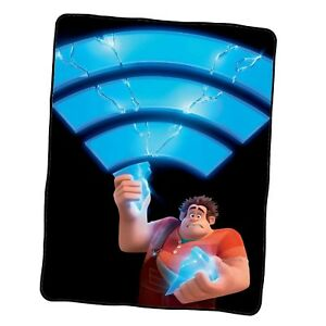 Ralph Breaks The Internet Poster 8 Custom Blanket