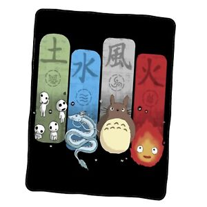 Studio Ghibli Elemental Charms Custom Blanket