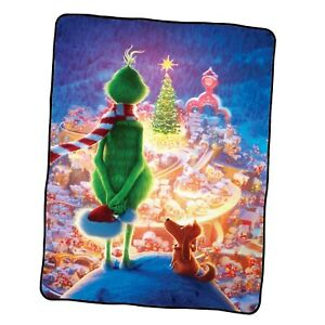 The Grinch 8 Custom Blanket