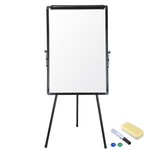 2 Ft X 3 Ft Magnetic Dry Erase Whiteboard Set With Tripod Stand 66x60x61cm