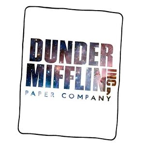 The Office Dunder Mifflin Galaxy Custom Blanket