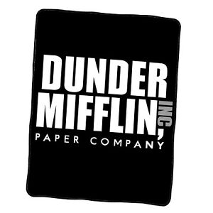 The Office Dunder Mifflin1 Custom Blanket