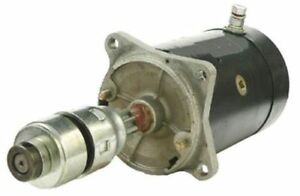 Starter Style With Drive 6 Volt 3110 Ford 2120 4140 2000 Naa 4130 4000 New