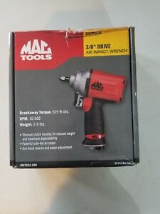 Mac Tools 3 8 Drive Hd Air Impact Wrench Awp038