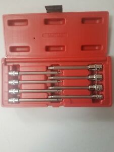 Mac Tools 8 Pc Long Torx Star Driver Set Smxtl8b