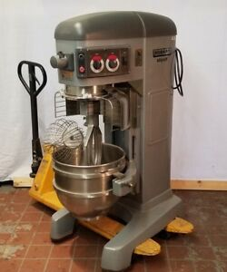 Hobart Legacy Hl600 60 Qt Mixer 1 Or 3 Phase Many Accessories School Mixer