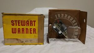 Vintage Stewart Warner Speedometer Odometer Box Gauge Rat Rod D565cj