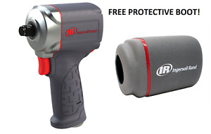 Ingersoll Rand 15qmax 3 8 Drive Quiet Stubby Impact Gun Wrench With Free Boot