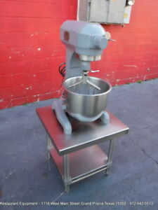 Hobart A200 Bakery Donut Pizza Dough Mixer 20 Qt W Bowl Paddle