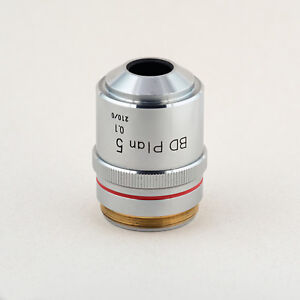 Nikon Bd Plan 5 0 1 210 0 Microscope Objective Excellent Condition