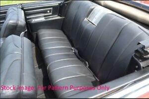1966 Cadillac Deville Convertible Rear Seat Cover