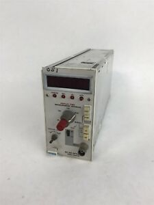 Tektronix Dc 501 Opt 1 100mhz Display Time Measurement Interval Overflow Counter