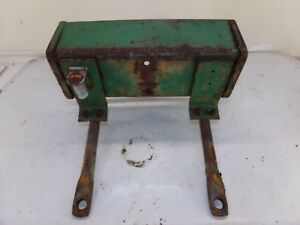 Oliver 880 Tractor Seat Bracket And Tool Box